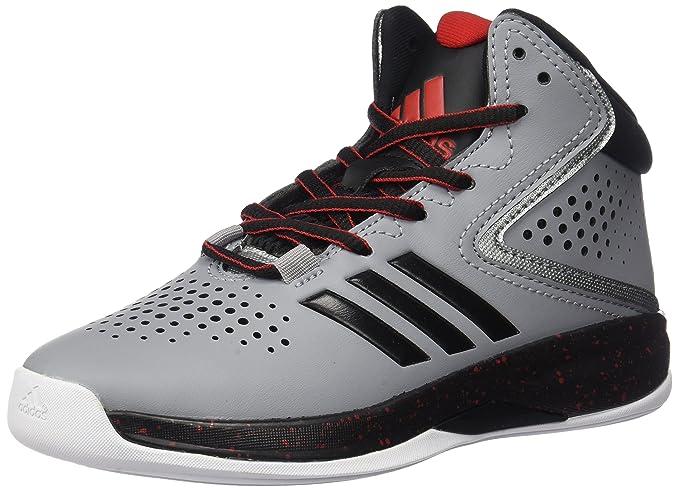 size 40 2e842 367e6 adidas Boys  Cross  Em up 2016 Skate Shoe, Light Onix Black