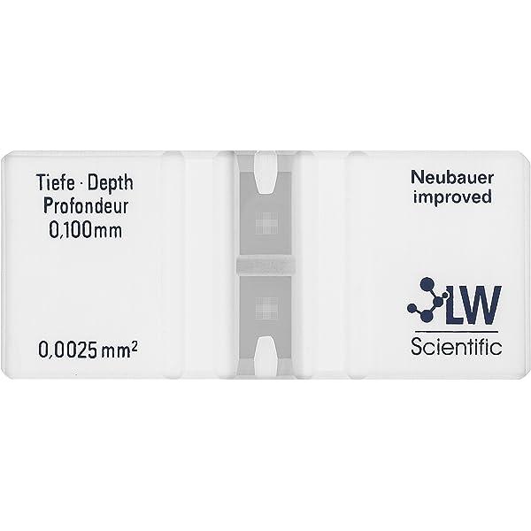 LW científica ctl-he mm-gldr hemacytometer, Neubauer ...