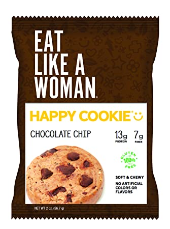 Amazon.com: Happy Cookie® Chocolate Chip, 2-Ounce, 12-pack ...