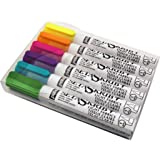 Pébéo Setaskrib+ Boîte de 6 feutres tissus Pointes Pinceaux Couleurs Fluo Assorties