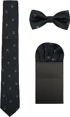 cravate tête de mort 1