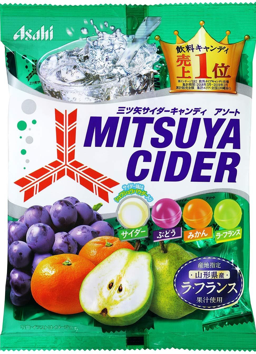 Asahi Food & amp; health care Mitsuya Cider Candy 136g ~ 6 bags
