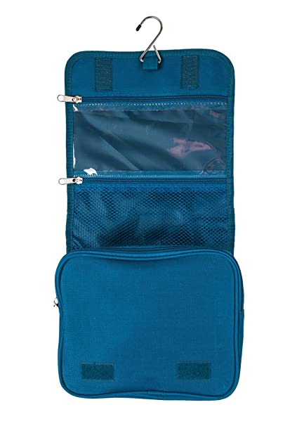 26e5e5cc6e Amazon.com  Hanging Toiletry Bag For Women or Men Travel Toiletries  Organizer Wash Bag Kit  GearNomad  USA