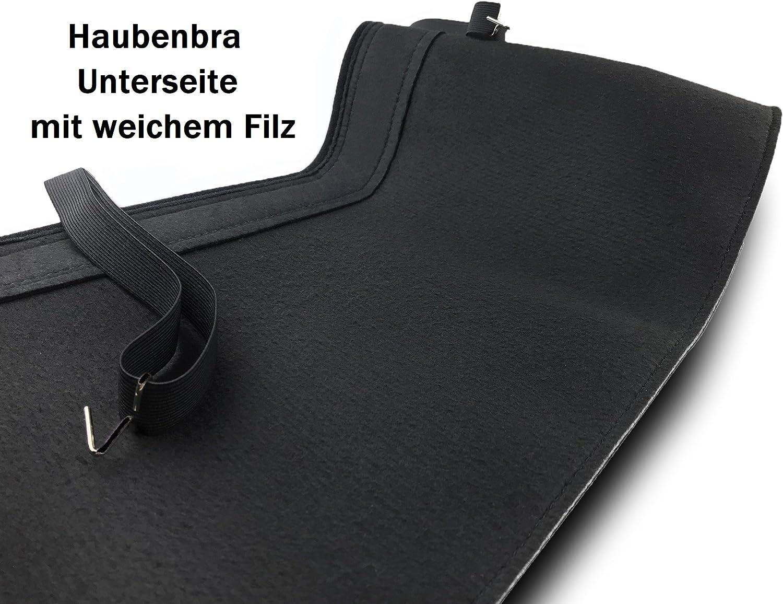 Haubenbra f/ür Corsa B Steinschlagschutz TUNING Steinschlagschutzmaske Automaske