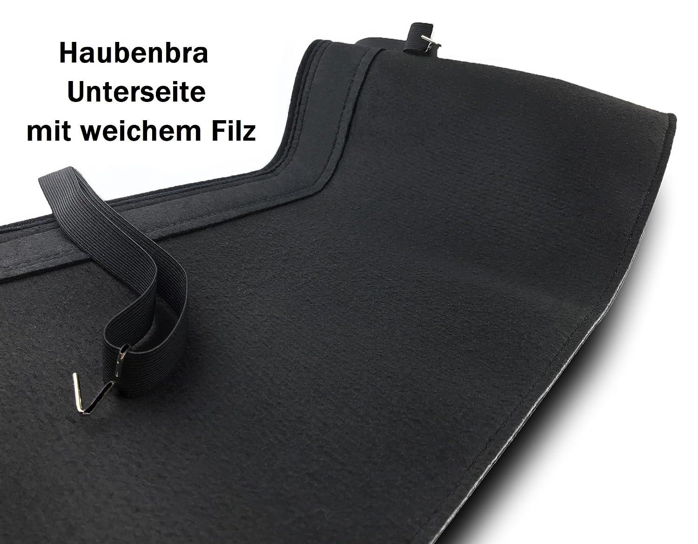 Haubenbra Sportage 2 CARBON Automaske Bra Steinschlagschutz TUNING Steinschlagschutzmaske