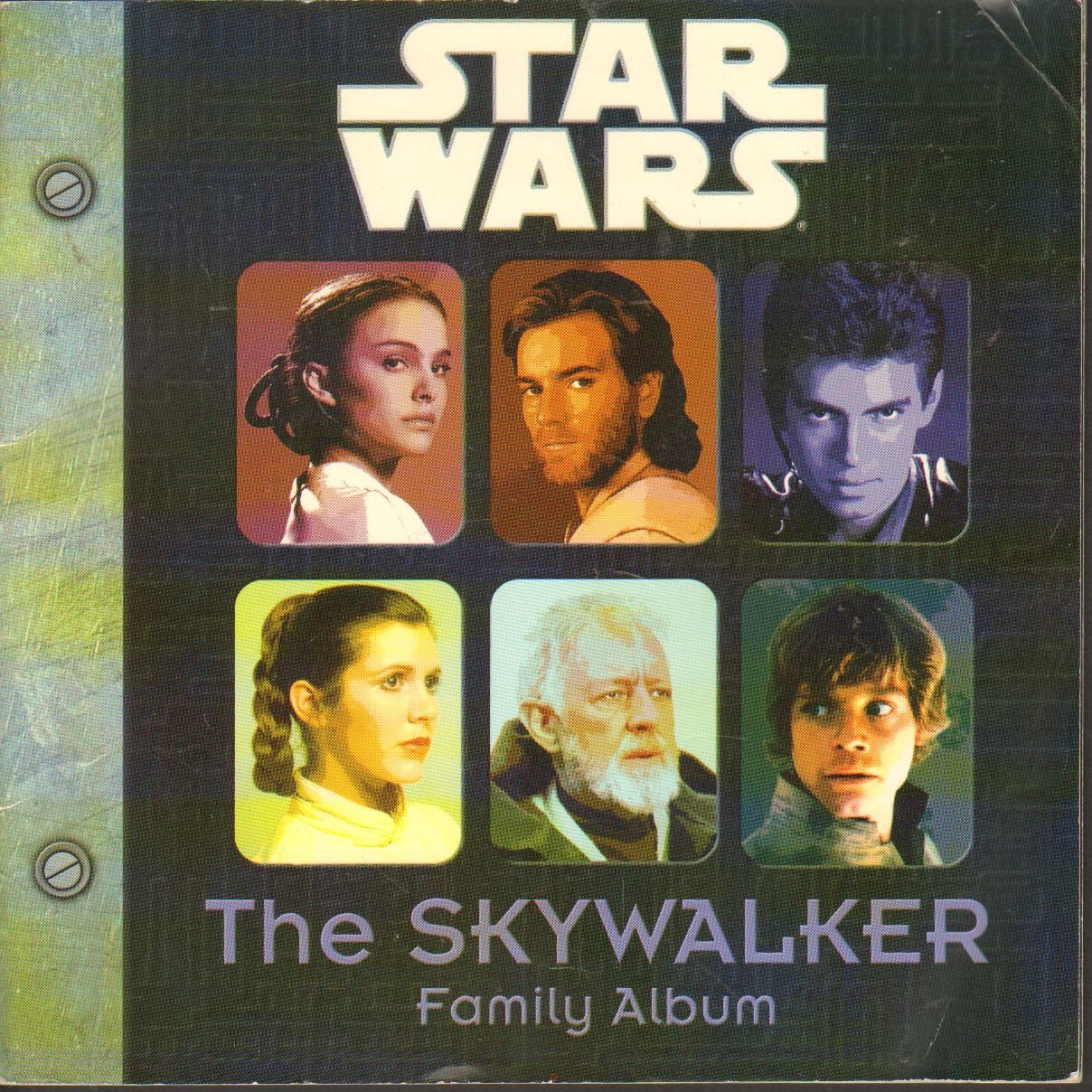"The Skywalker Family Album Picture Book ""Episode II Star Wars"" S ..."