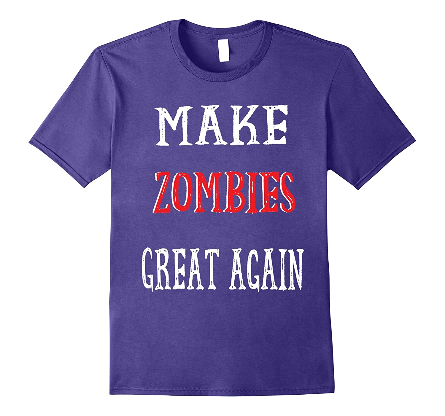 Zombie Funny Political Tee-T-Shirt