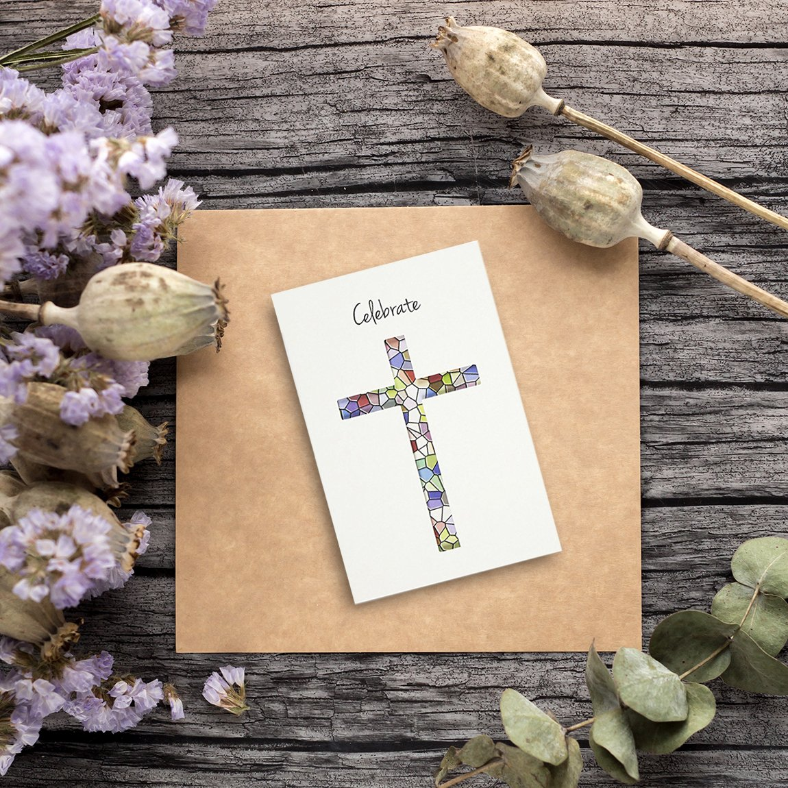 36 Pack Easter Greeting Cards Happy Easter Note Cards Easter Day