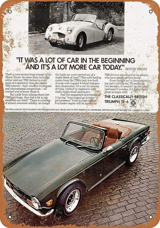 British Leyland Triumph TR6 sign .