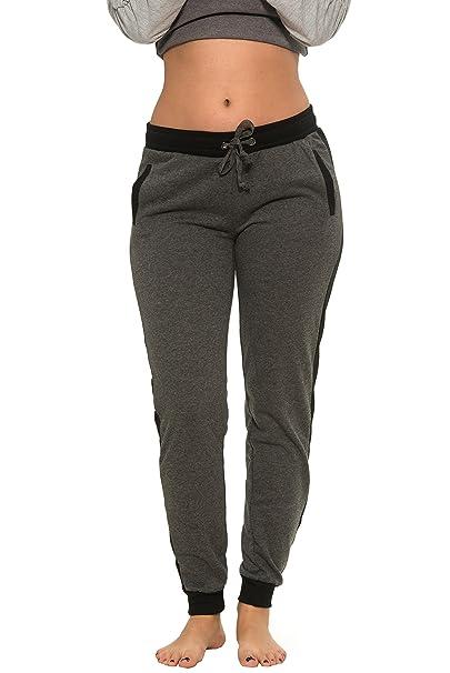 Amazon.com: Coco-Limon - Pantalones de chándal para mujer ...
