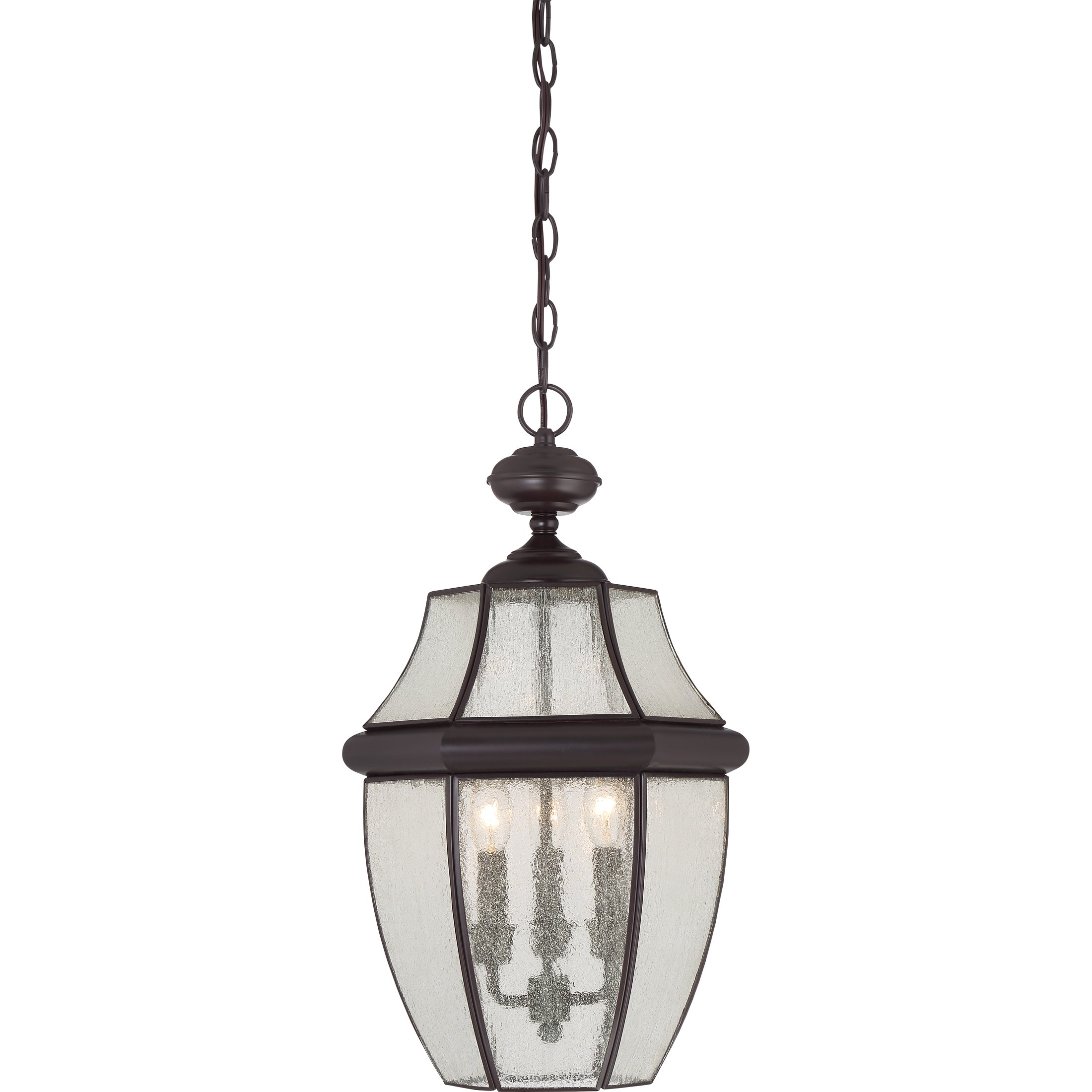 Quoizel NY1912Z 3-Light Newbury Outdoor Lantern in Medici Bronze by Quoizel