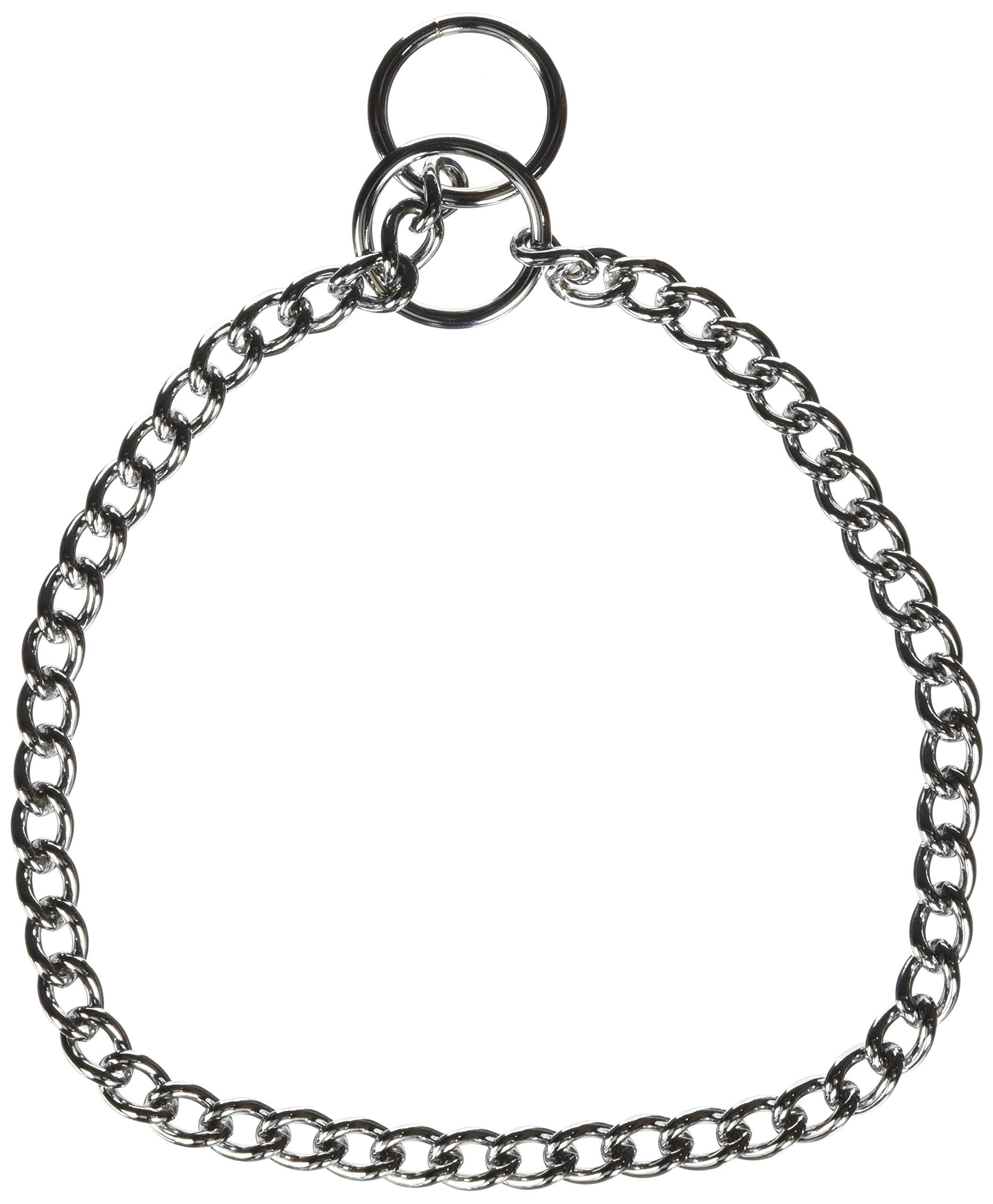 hamilton choke chain dog collar  18