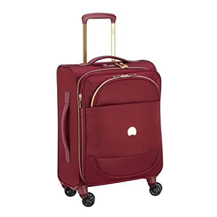 DELSEY Montrouge Maleta, 55 cm, 42 Liters, Rojo (Rouge ...