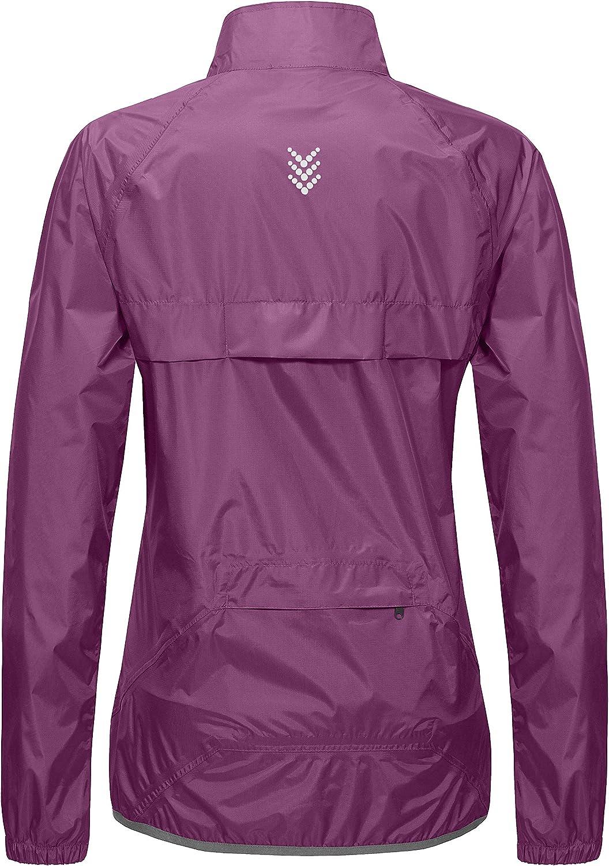 Windbreaker Little Donkey Andy Women/'s Waterproof Cycling Bike Jacket Running Rain Jacket Ultralight and Packable