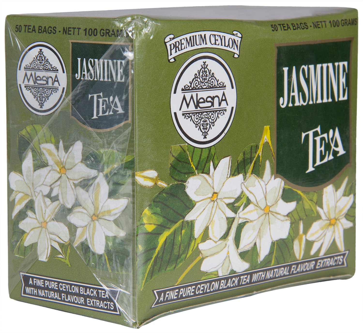 Mlesna flavoured tea bag jasmine 100g amazon grocery mlesna flavoured tea bag jasmine 100g amazon grocery gourmet foods izmirmasajfo Images