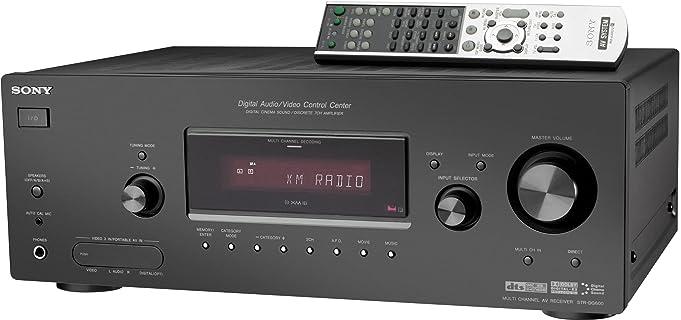 amazon com sony str dg600 7 1 channel home theater receiver with xm rh amazon com Sony Receiver Troubleshooting Sony 9 1 Receiver
