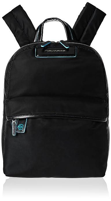 Piquadro Mochila escolar, negro (Negro) - CA4182CE/N: Amazon.es: Equipaje