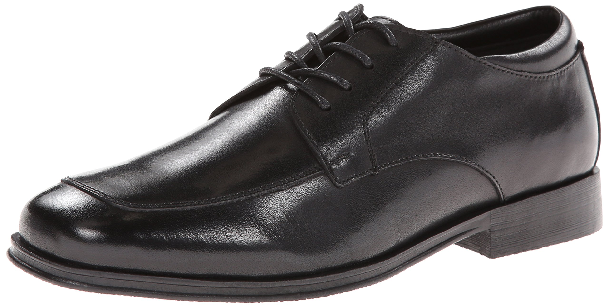 Kenneth Cole Reaction Kid Club Oxford (Little Kid/Big Kid), Black Matte, 4 M US Big Kid