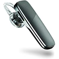 Plantronics Explorer 500 Bluetooth Headset with Magnetic Micro-USB Charge Strap, Grey