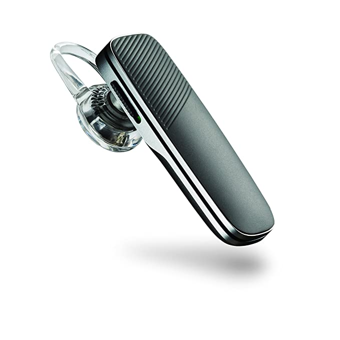 Plantronics Explorer 500 Bluetooth Headset with Mic  Black  Audio Headphones