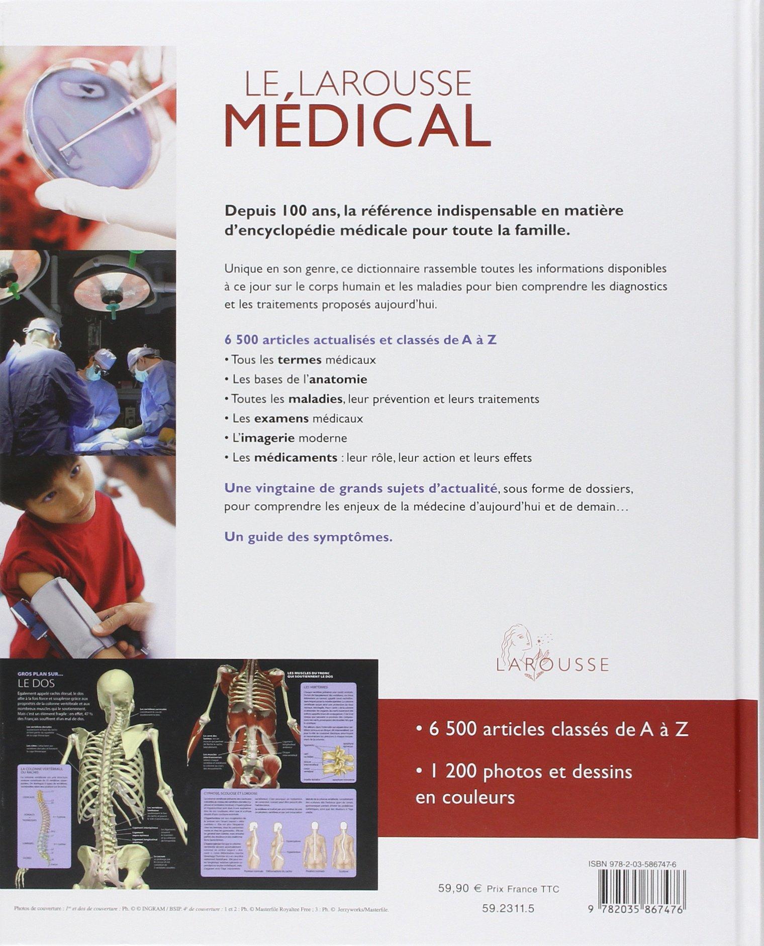 encyclopedie medicale larousse 2012