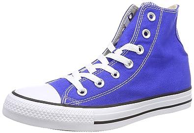 Unisex Kids Chuck Taylor CTAS Hi Canvas Fitness Shoes, Blue (Hyper Royal 483), 3.5 UK 4 UK Converse