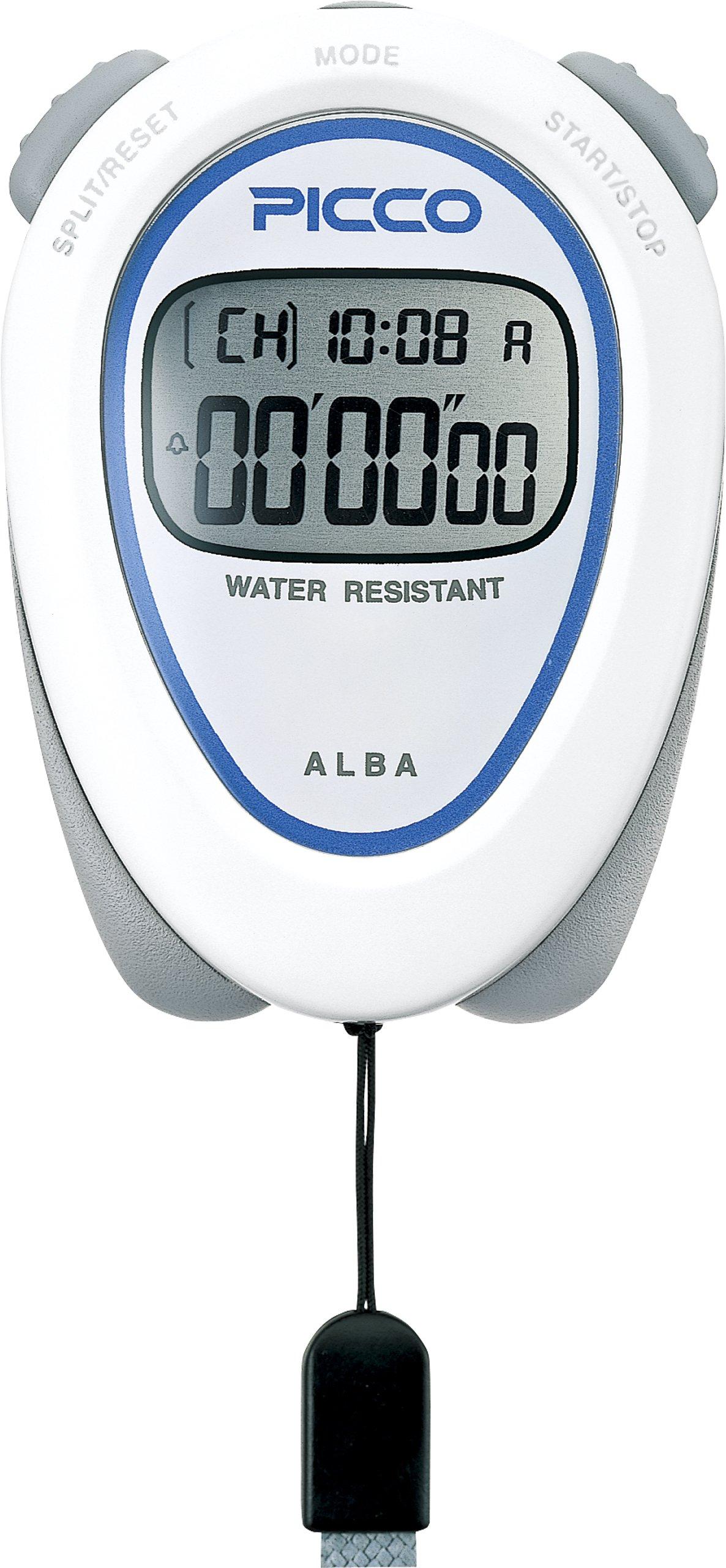 SEIKO ALBA PICCO Standard Stopwatch White ADMD002 by