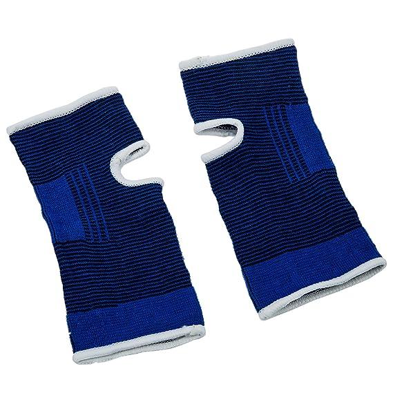 TOOGOO (R) del tobillo del pie de apoyo elastico protector corse Calcetines de deporte-Azul: Amazon.es: Deportes y aire libre