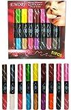 Lip Gloss Perfection Set 9 Dual Side tube 18 Colors (Matte, Shimmer, Glitter) Lip Gloss Makeup Set