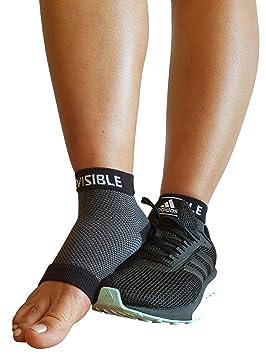 BeVisible Sports Fascia Plantar Pie Compresión Fundas Calcetines Tobilleros para Hombre Mujer & Jóvenes con -