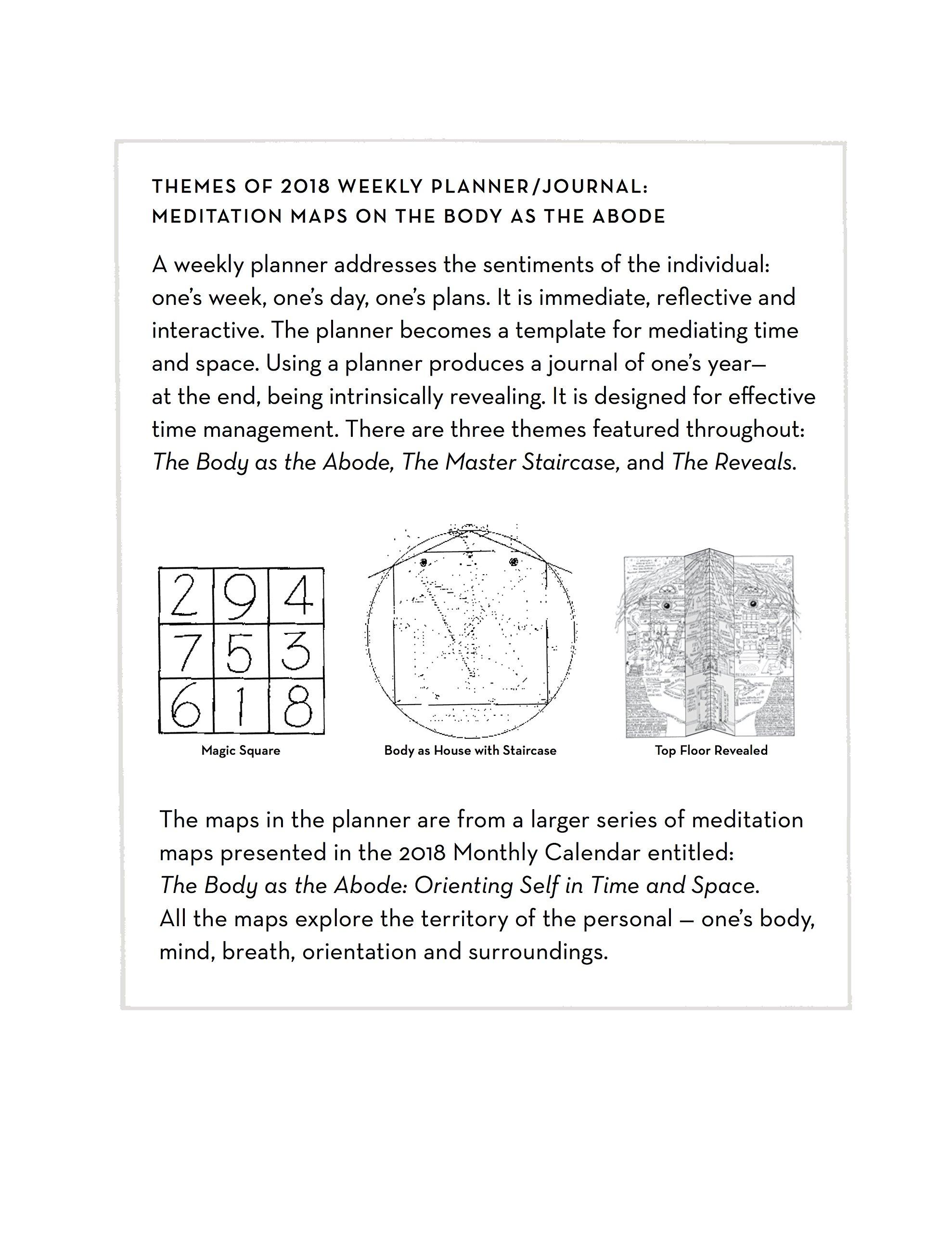 KATONAH YOGA Magic Square 2018 Weekly PlannerJournal Nevine