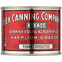 Kyknos doppelt konzentrierte Tomatenpaste 32-34% - 200g Dose, 3er Pack (3 x 200 g)