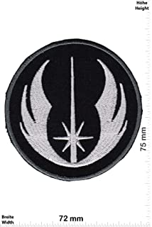 patches starwars jedi black silver logo corporation movie star wars