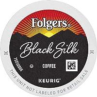 72-Ct Folgers K Cups Black Silk Dark Roast Coffee for Keurig Makers