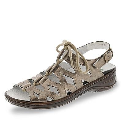 22 56550 60 Korfu Damen Sandale aus Glattleder