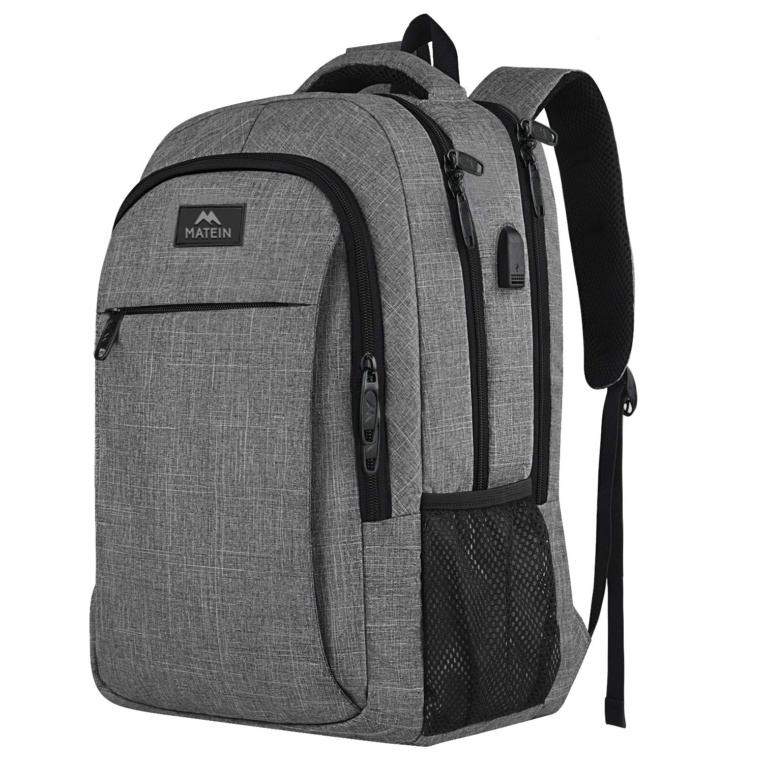 The MATEIN Travel Laptop Business Backpack travel product recommended by Guy Novik on Lifney.