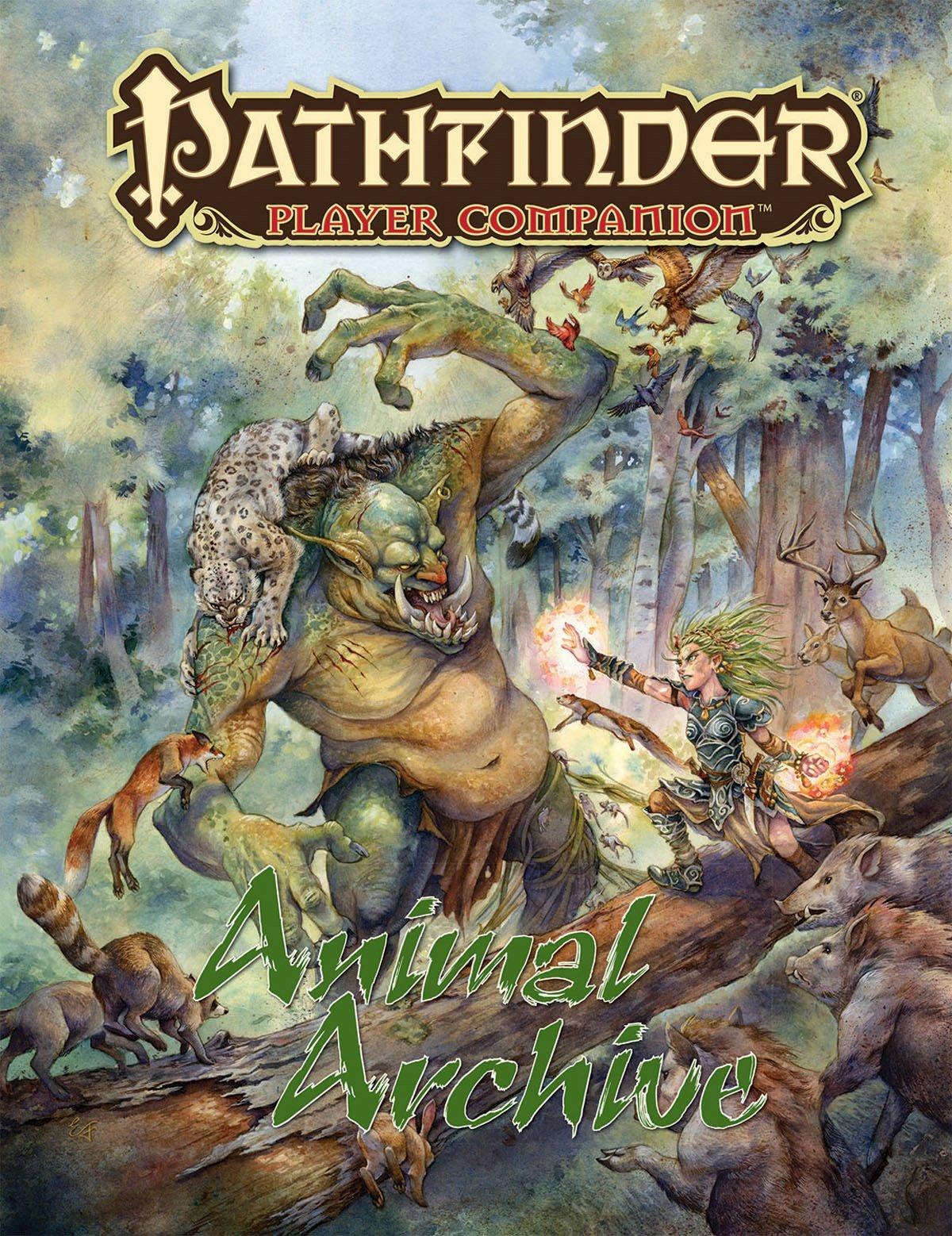 Pathfinder Player Companion: Animal Archive: Paizo Staff