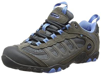 Hi-Tec Windermere WP, Damen Trekking- & Wanderhalbschuhe, Grau - Grey (Grey/Charcoal/Cornflower) - Größe: 37