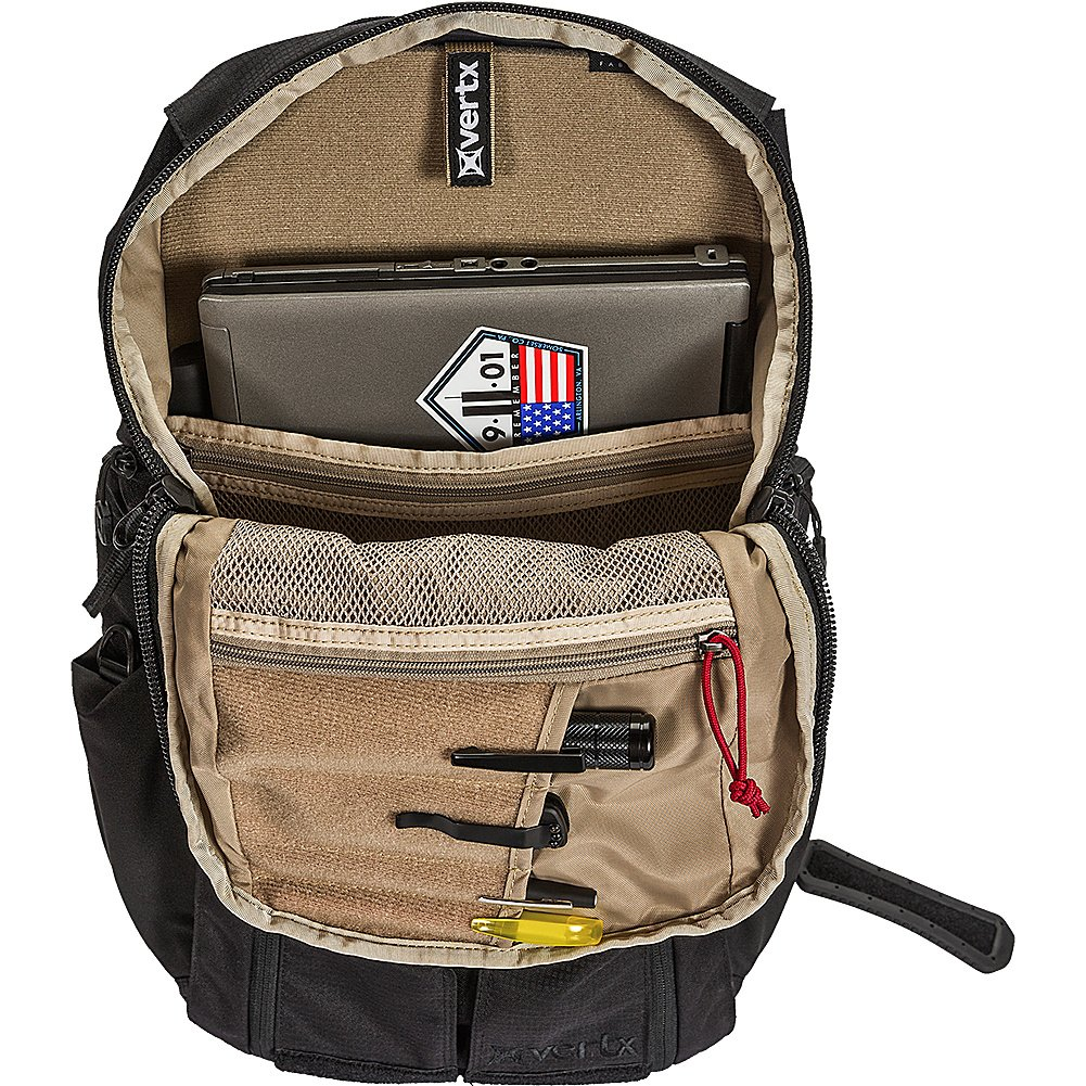 0d2a2141086a Amazon.com  Vertx EDC Gamut 18 Hour Hiking Backpack Bag Midnight Navy Stone  VTX5015  Sports   Outdoors