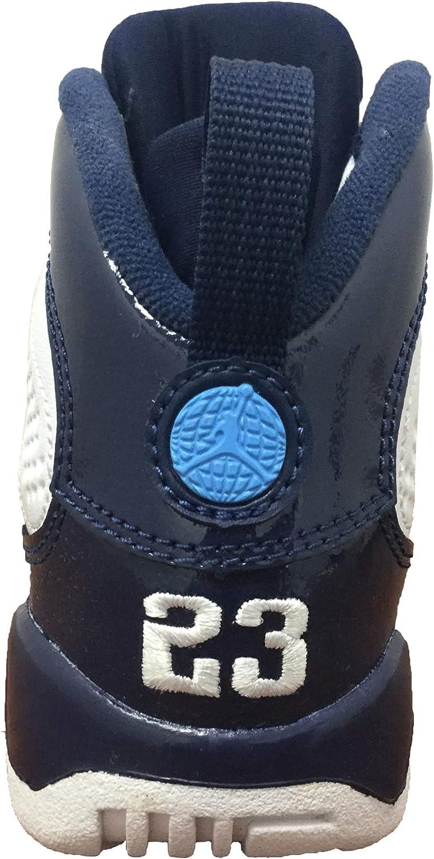 PS Jordan Retro 9 UNC White//University Blue