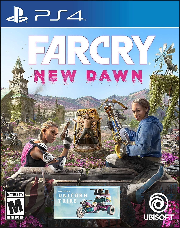 Amazon Com Far Cry New Dawn Playstation 4 Standard Edition Renewed Video Games