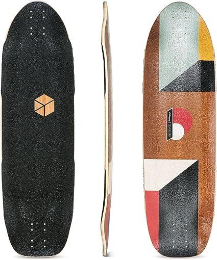 Loaded Boards Cantellated Tesseract Bamboo Longboard Skateboard Deck