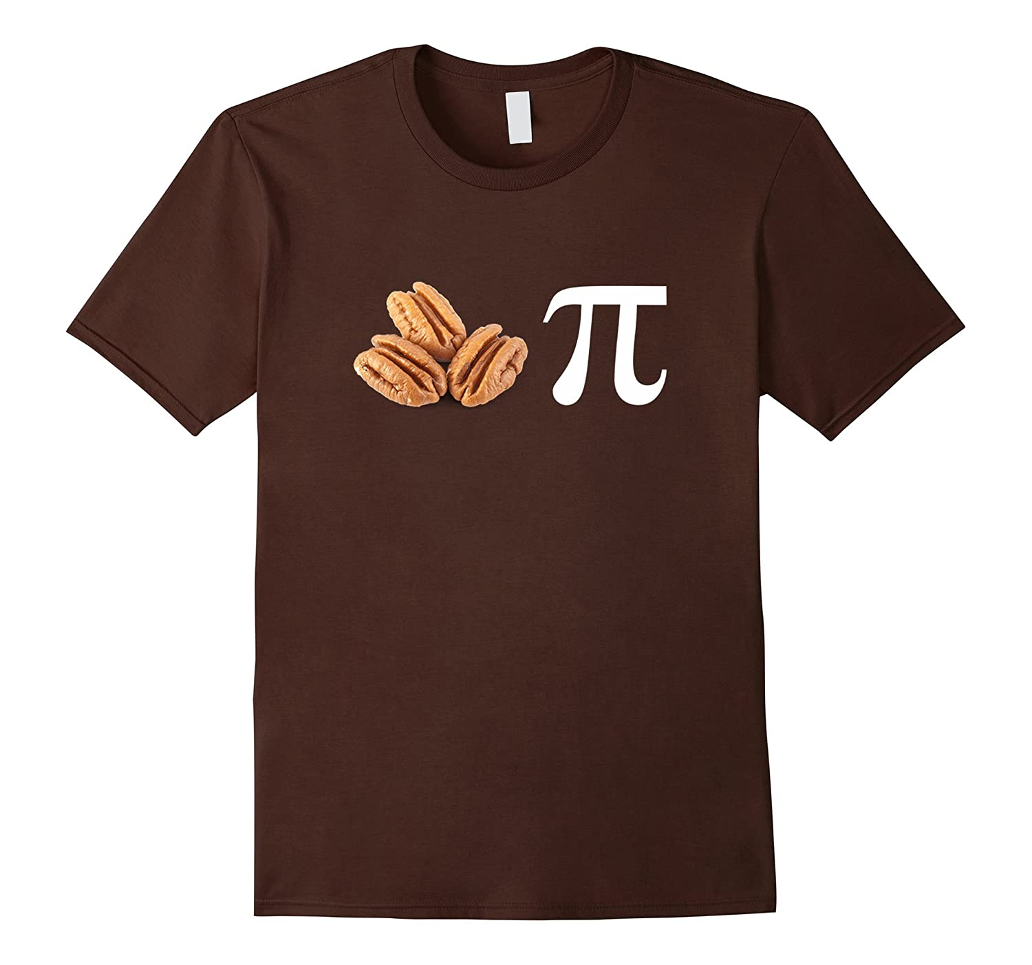 Pecan Pi Pie T-shirt Holiday Pie Day Math Humor Shirt-RT