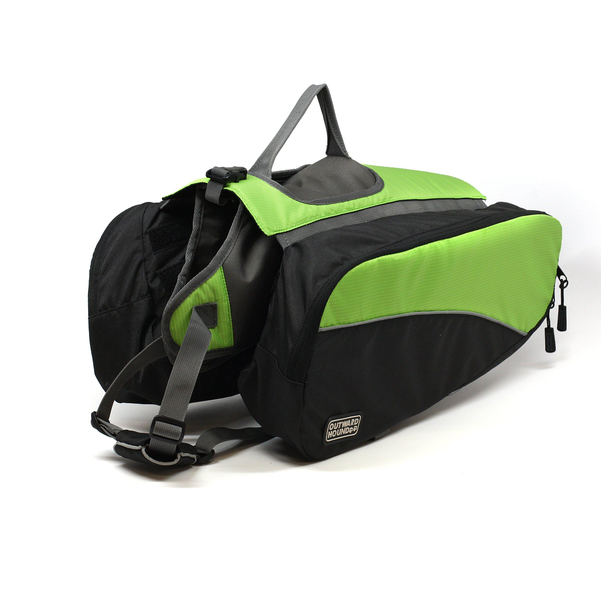 Outward Hound Kyjen  2491 Dog Backpack, Large, Green by Kyjen