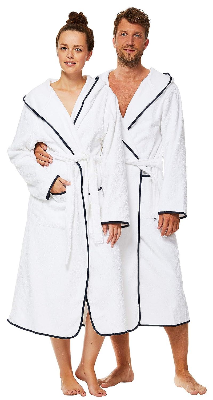 Cappuccio Extra Lungo Sowel/® Accappatoio da Donna e da Uomo Premium Soffice Spugna 100/% Cotone