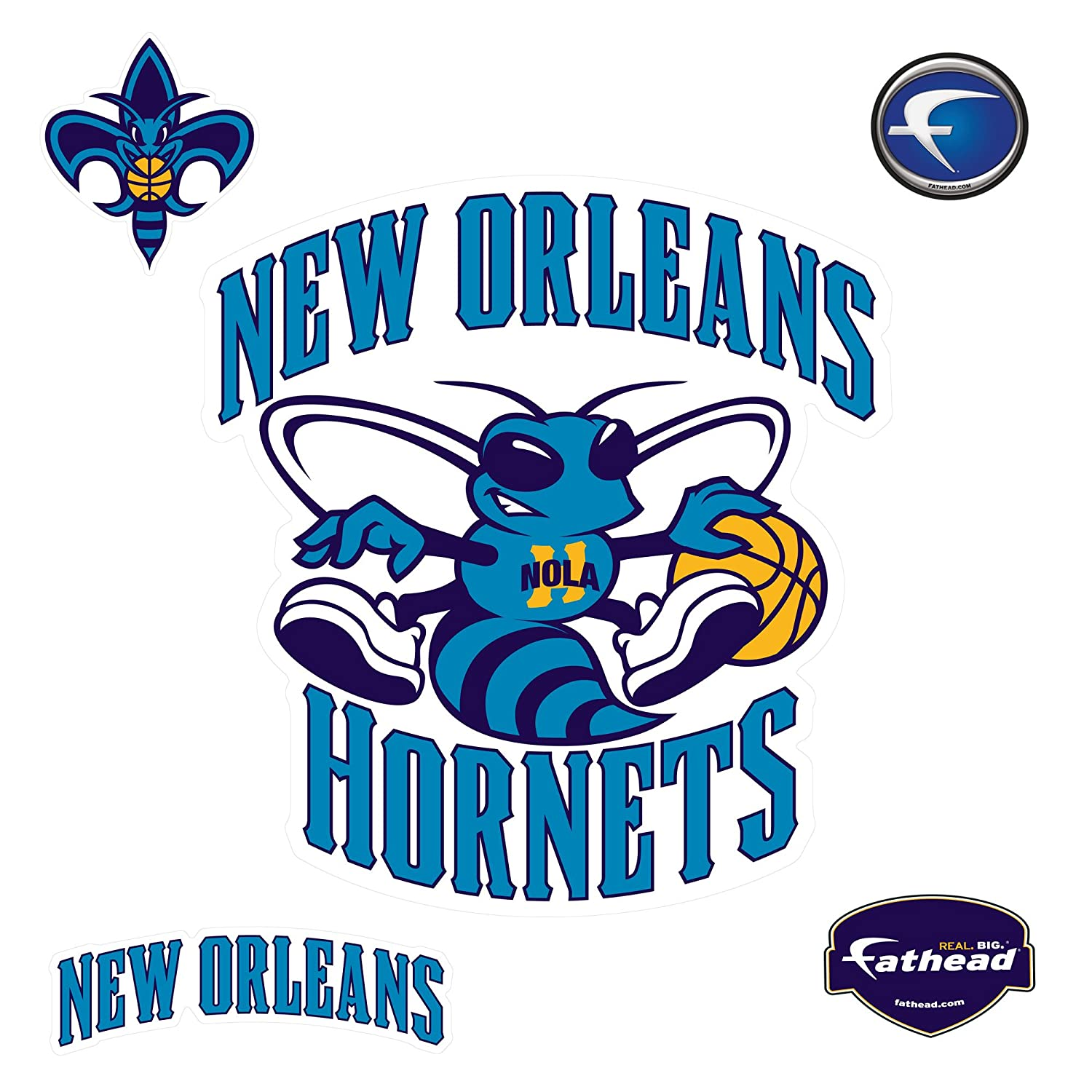 Amazon com : Fathead NBA New Orleans Pelicans New Orleans