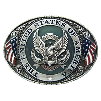 B63 Boucle de ceinture THE UNITED STATES OF AMERICA USA  Amazon.fr ... acd1ab40c71