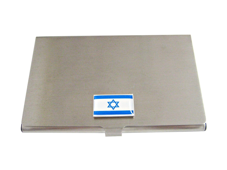 Israel Flag Business Card Holder