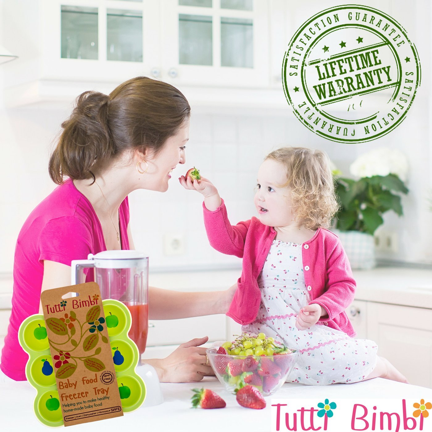 Tutti Bimbi - Molde de silicona para congelador, para la pappa de ...