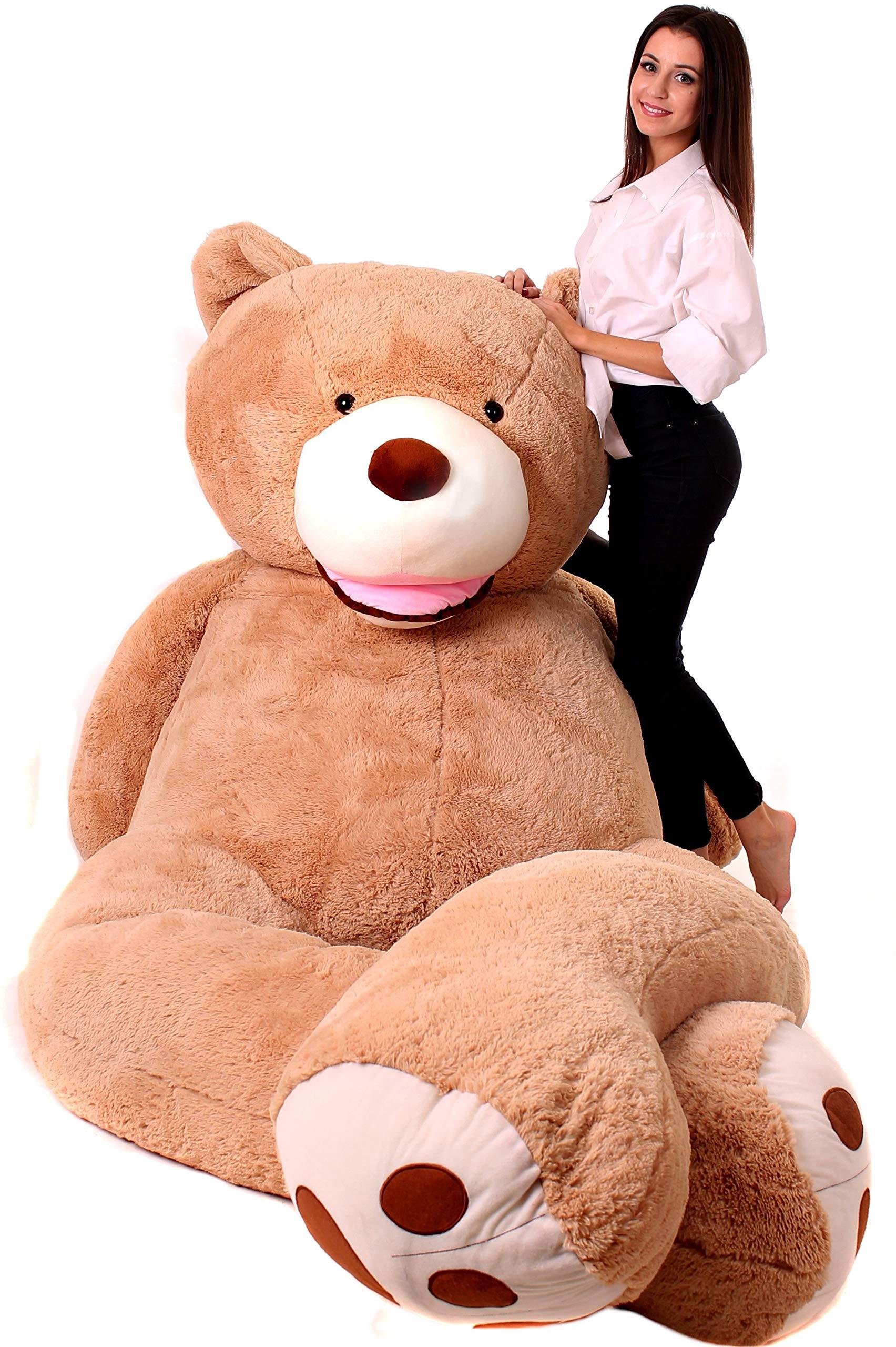 Hay Hay Chicken Stuffed Animal, Makosas Giant Teddy Bear 340cm Big Cud Buy Online In El Salvador At Desertcart